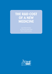 The R&D Cost of a New Medicine