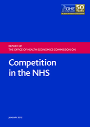 Report of OHE Commission on Competition in the NHS