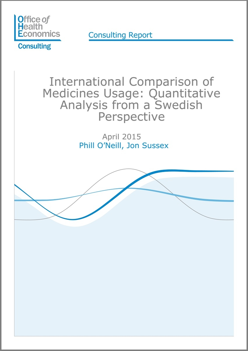International Comparison of Medicines Usage Quantitative Analysis – Consulting Report